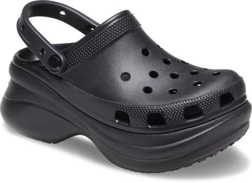 Crocs Classic Bae Platform clog Ladies Beach Black